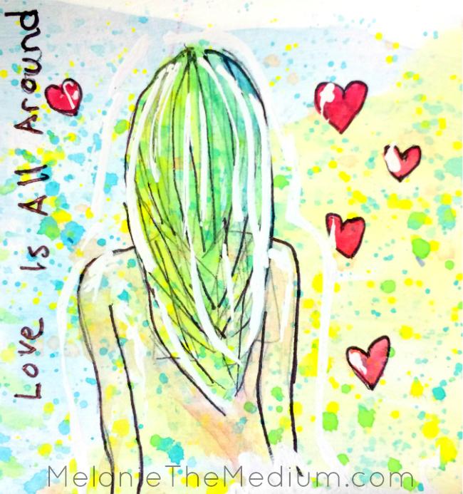 Love is all around Melanie The Medium