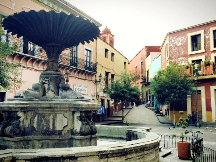 Fountain in Guanajuato Mexico