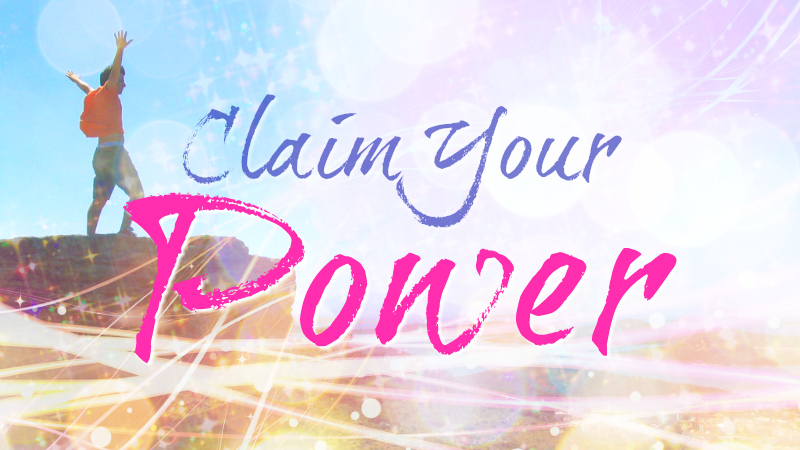 Claim Your Power by Melanie The Medium
