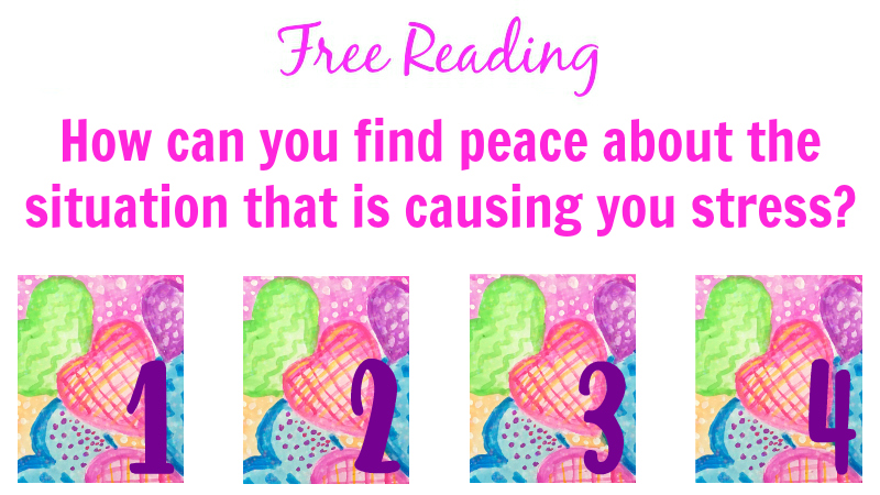 How can you find peace about a situation that is causing you stress