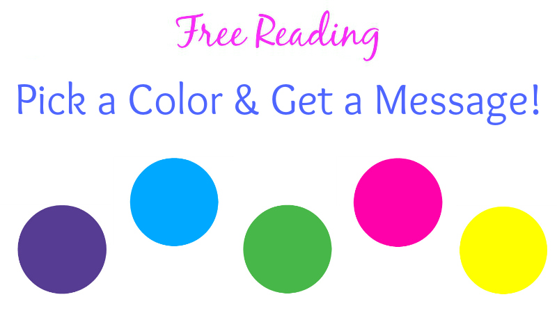 Free Reading: Pick a Color & Get a Message