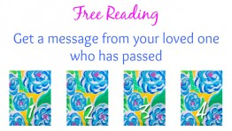Free Reading: Message from Loved One Who Has Passed
