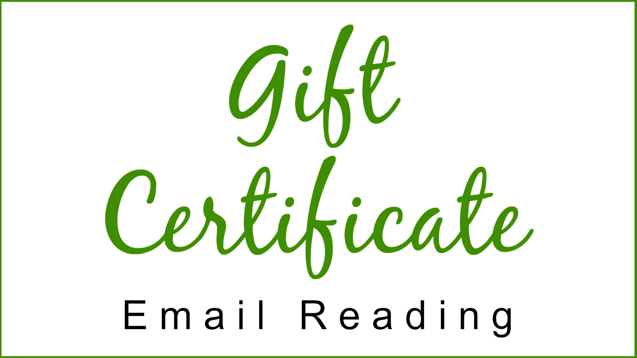 Gift Certificate - Email Reading