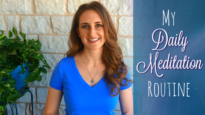 My Daily Meditation Routine Psychic Medium Melanie Jade Rummel