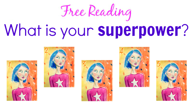 What is your superpower reading by Melanie The Medium
