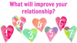 Free Reading: What will improve your relationship?