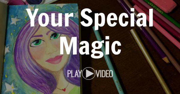 Your Special Magic Art Journal by Melanie Jade Rummel