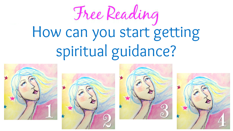 How can you start getting spiritual guidance? Pick a card
