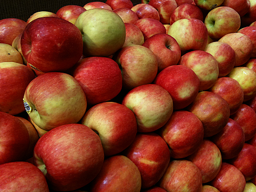 Gala Apples at Whole Foods