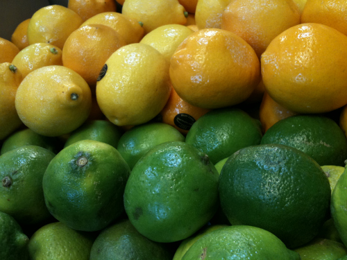 Lemons and Limes at Whole Foods