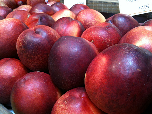 Plums at Whole Foods