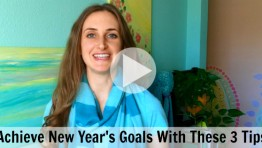 VIDEO: Accomplish New Year's Goals With These 3 Tips