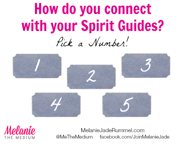 How do you connect with your Spirit Guides Quiz