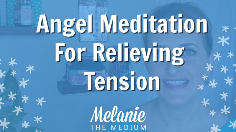 angel meditation for relieving tension
