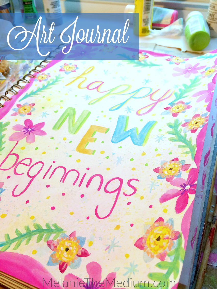 Art Journal - New Year New Beginnings
