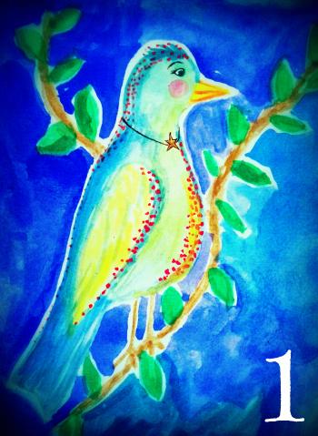 Birdie 1 by Melanie Jade Rummel