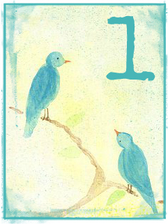 Birds 1 by Melanie Jade Rummel