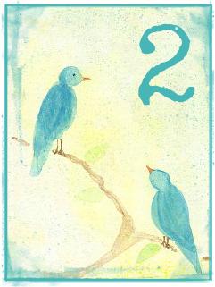 Birds 2 by Melanie Jade Rummel