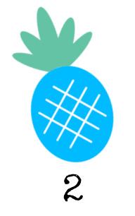 2 - Blue Pineapple