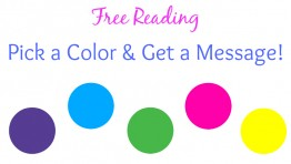Free Reading: Pick a Color & Get a Message!