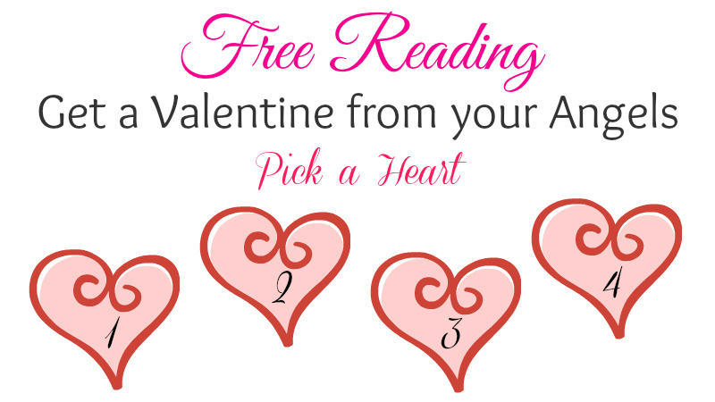 Get a Valentine from your Angels by Melanie Jade Rummel