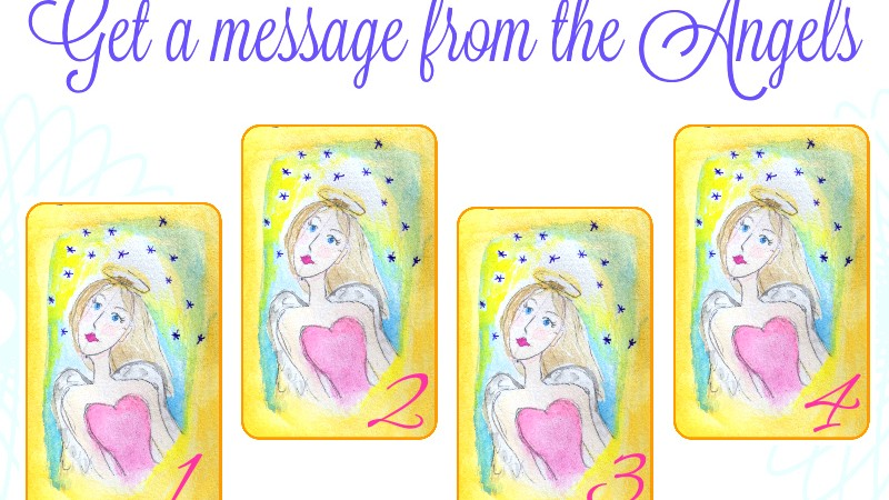 Get a message from the Angels