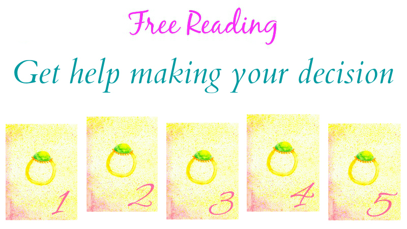 Free Reading - Get help making your decision by Melanie the Medium