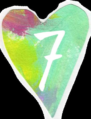 Heart 7 by Melanie Jade Rummel by Melanie Jade Rummel