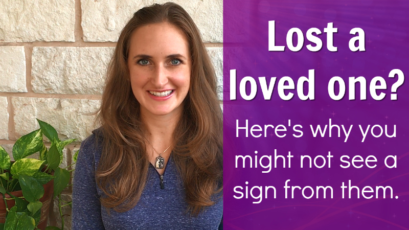 Lost a loved one - here's why you might not see a sign from them
