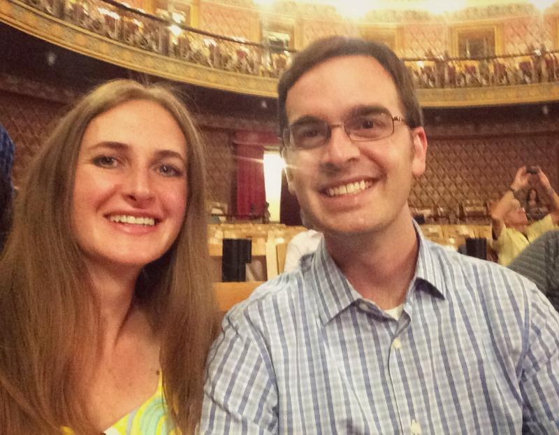 Mark & Melanie at Teatro Juarez