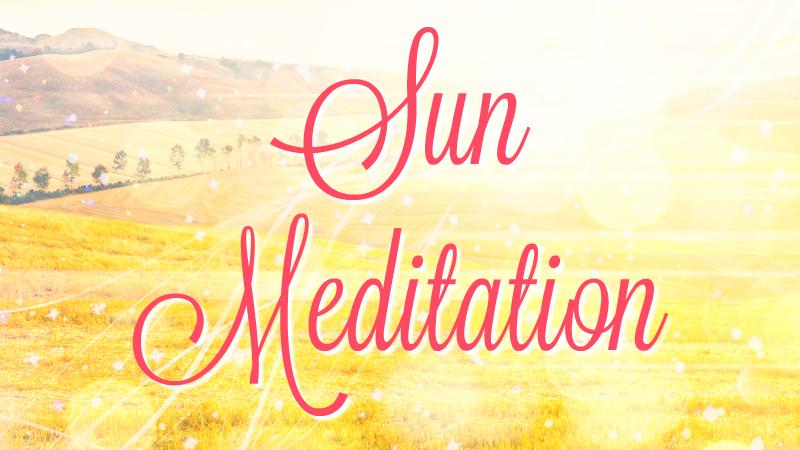 Sun Meditation by Melanie Jade Rummel