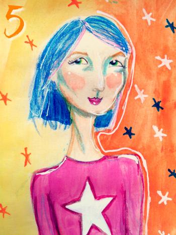 Superpower 5 by Melanie The Medium