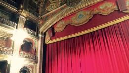Taking Time to Breathe and Receive (a visit to Teatro Juarez in Guanajuato, Mexico)