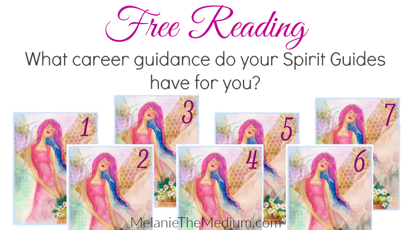 What career guidance do your spirit guides have for you