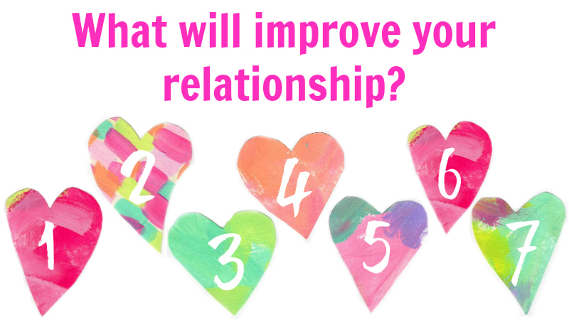 What will improve your relationship - by Melanie The Medium