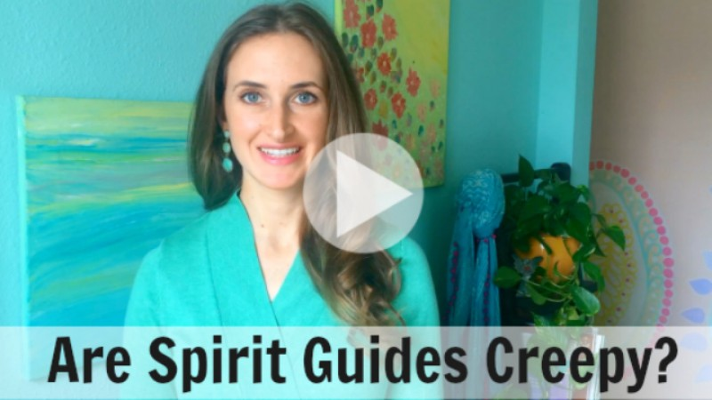 Are Spirit Guides Creepy? - Video by Melanie The Medium