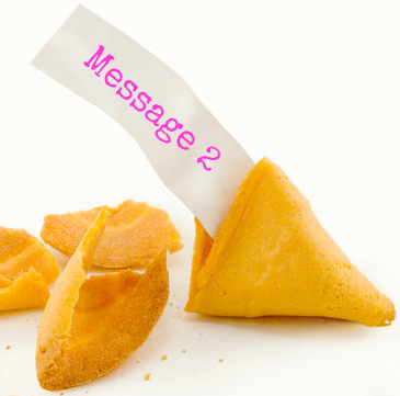 fortune cookie message 2
