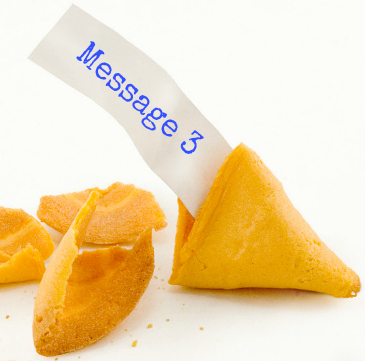 fortune cookie message 3