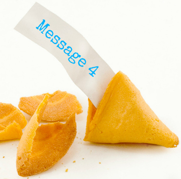 fortune cookie message 4