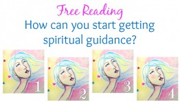 Free Reading: How can you start getting spiritual guidance?